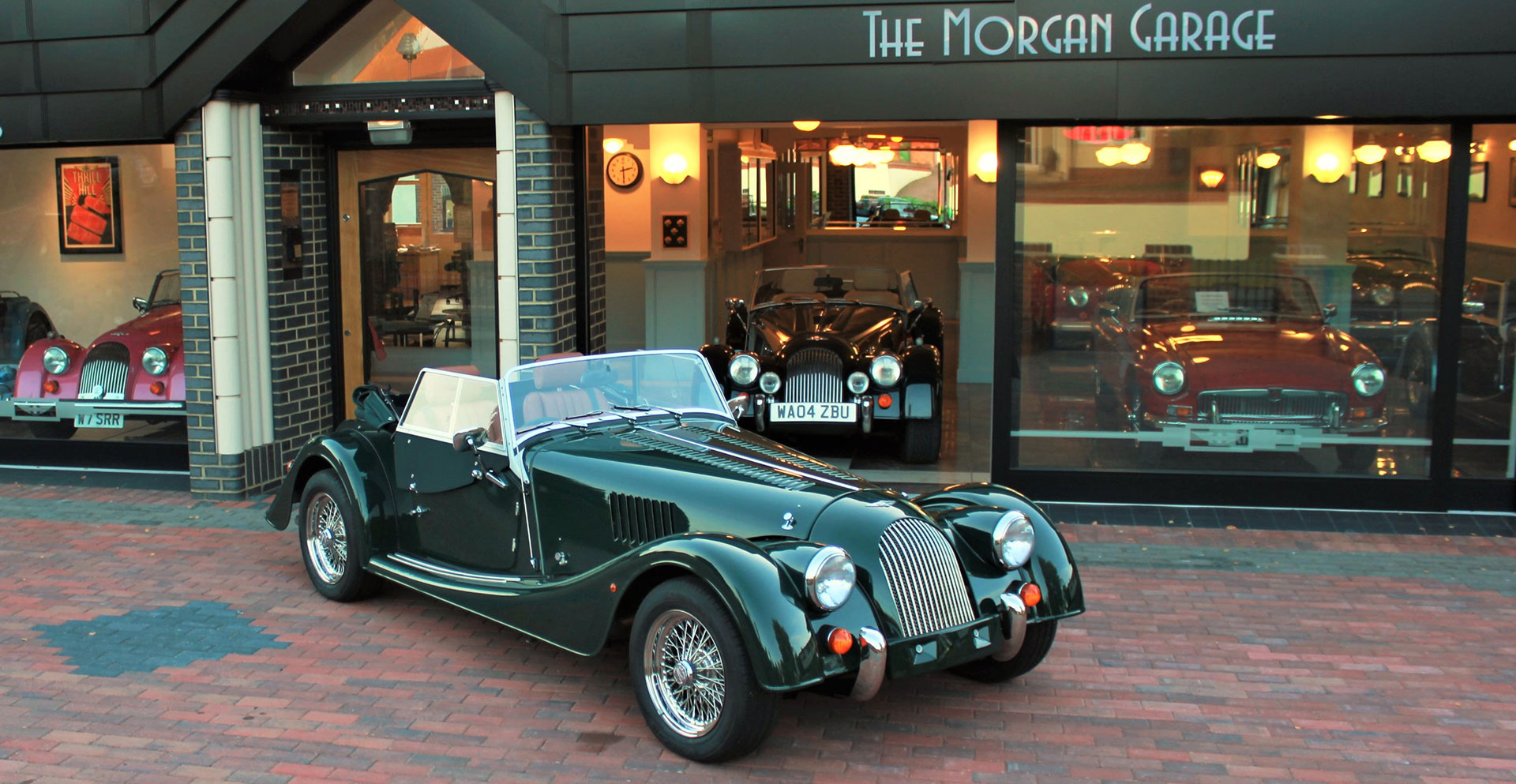 Car Transporter Hire >> Morgan Cars for Sale from Melvyn Rutter Ltd, Morgan Main Dealer