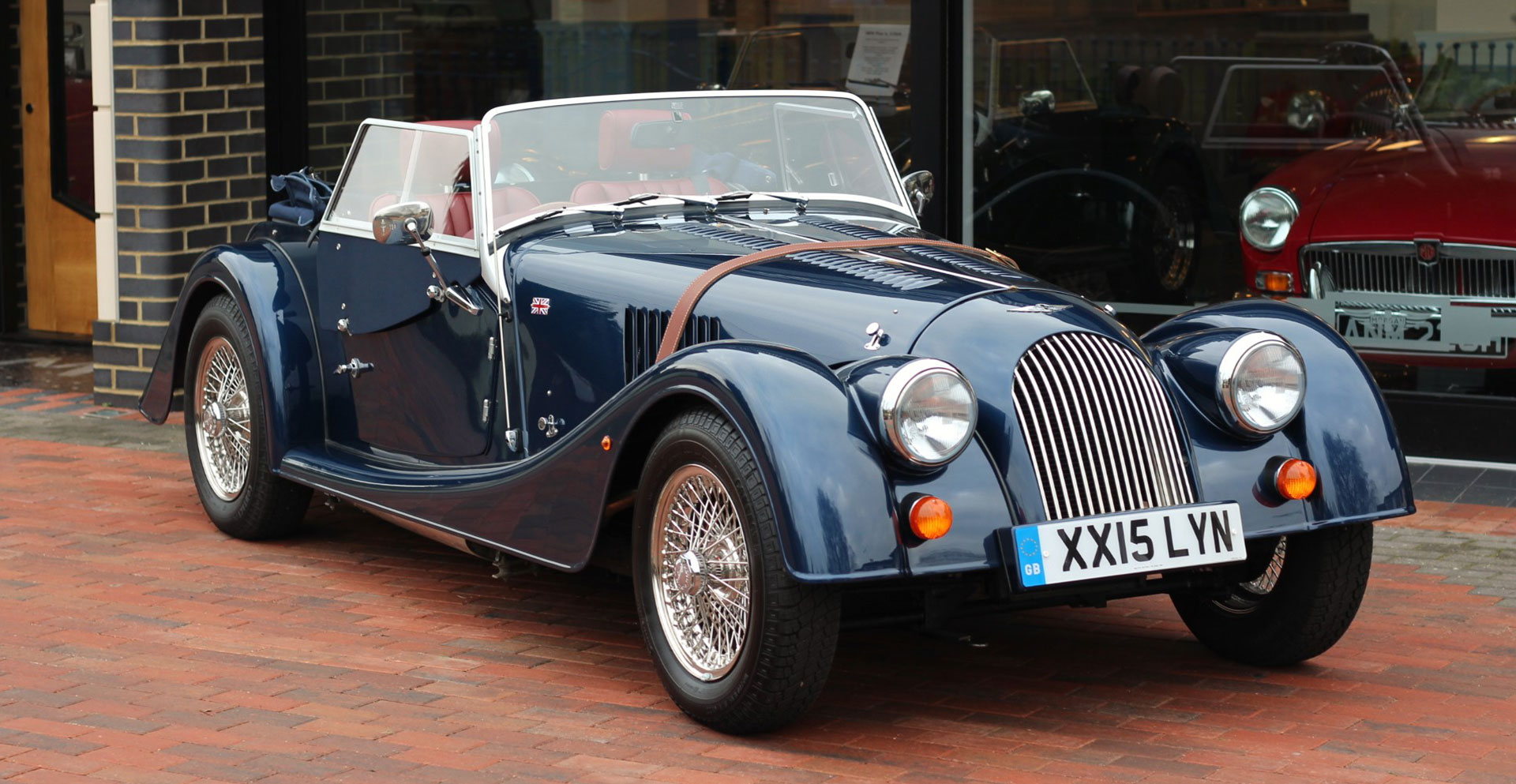 morgan cars for sale from melvyn rutter ltd morgan main