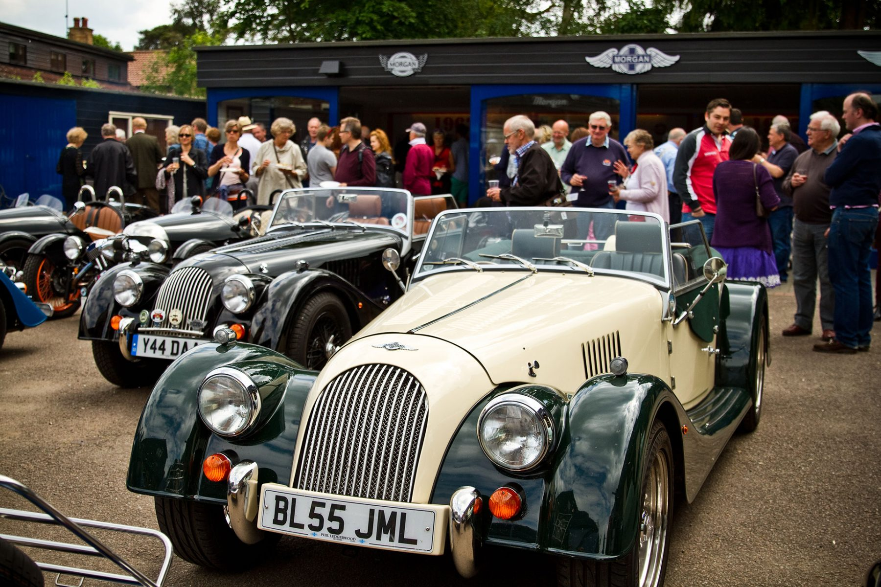 Morgan car Summer BBQ 2014 Melvyn Rutter Ltd